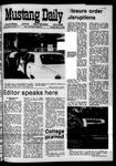 Mustang Daily, May 12, 1970