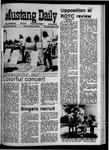 Mustang Daily, May 20, 1970