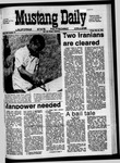 Mustang Daily, May 22, 1970