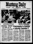 Mustang Daily, September 21, 1970