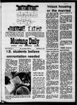 Mustang Daily, September 22, 1970