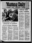 Mustang Daily, September 25, 1970