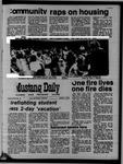 Mustang Daily, October 1, 1970