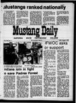 Mustang Daily, October 2, 1970