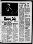 Mustang Daily, October 5, 1970