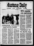 Mustang Daily, October 7, 1970