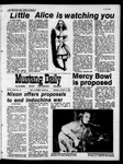 Mustang Daily, October 8, 1970