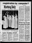 Mustang Daily, October 12, 1970