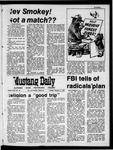 Mustang Daily, October 13, 1970