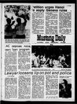 Mustang Daily, October 15, 1970