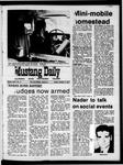 Mustang Daily, October 16, 1970