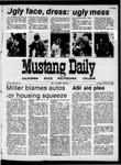 Mustang Daily, October 20, 1970