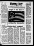 Mustang Daily, October 26, 1970