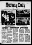 Mustang Daily, October 27, 1970