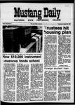 Mustang Daily, October 28, 1970