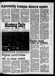 Mustang Daily, October 30, 1970