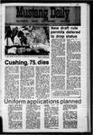Mustang Daily, November 3, 1970