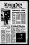 Mustang Daily, November 6, 1970