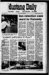 Mustang Daily, November 12, 1970