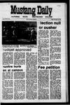 Mustang Daily, November 13, 1970