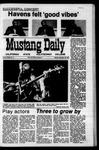 Mustang Daily, November 16, 1970