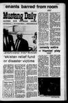 Mustang Daily, November 23, 1970