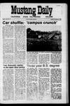 Mustang Daily, November 24, 1970