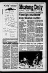 Mustang Daily, November 30, 1970