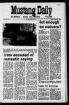 Mustang Daily, December 1, 1970