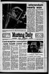Mustang Daily, January 11, 1971
