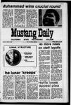 Mustang Daily, January 12, 1971