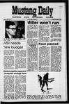 Mustang Daily, January 14, 1971