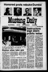 Mustang Daily, January 15, 1971