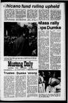 Mustang Daily, January 18, 1971