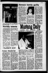 Mustang Daily, January 26, 1971