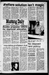 Mustang Daily, January 28, 1971