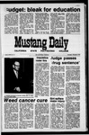 Mustang Daily, February 4, 1971
