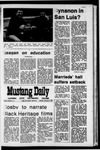 Mustang Daily, February 8, 1971