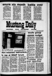Mustang Daily, February 25, 1971