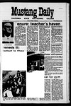 Mustang Daily, March 12, 1971