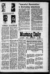 Mustang Daily, April 8, 1971
