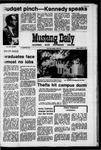 Mustang Daily, April 9, 1971