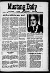 Mustang Daily, April 14, 1971