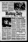 Mustang Daily, April 28, 1971