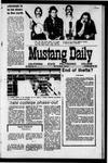 Mustang Daily, April 29, 1971