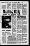 Mustang Daily, May 3, 1971