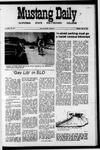 Mustang Daily, May 24, 1971