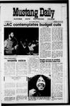 Mustang Daily, May 26, 1971