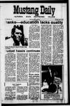 Mustang Daily, May 27, 1971