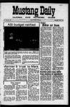 Mustang Daily, June 2, 1971